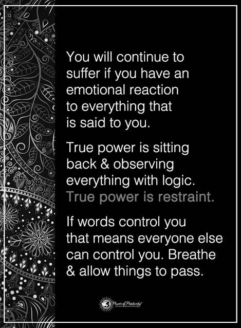 Reduce suffering by stopping to breathe and allow things to pass