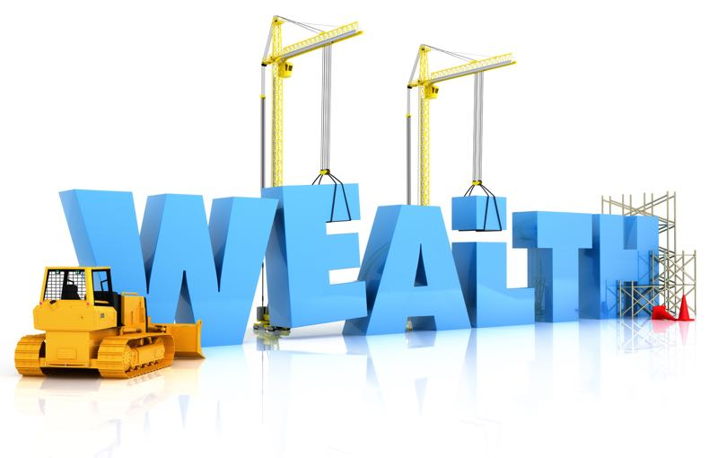 Build wealth by being self employed and eliminate debt