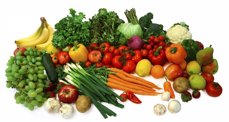 Nutritious and healthy fresh fruit and vegetables will boost your immune system and help prevent disease